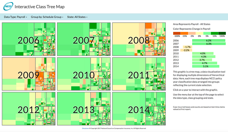 Discover Ncci's Interactive Class Tree Map: Ncci State Map At Codeve.org